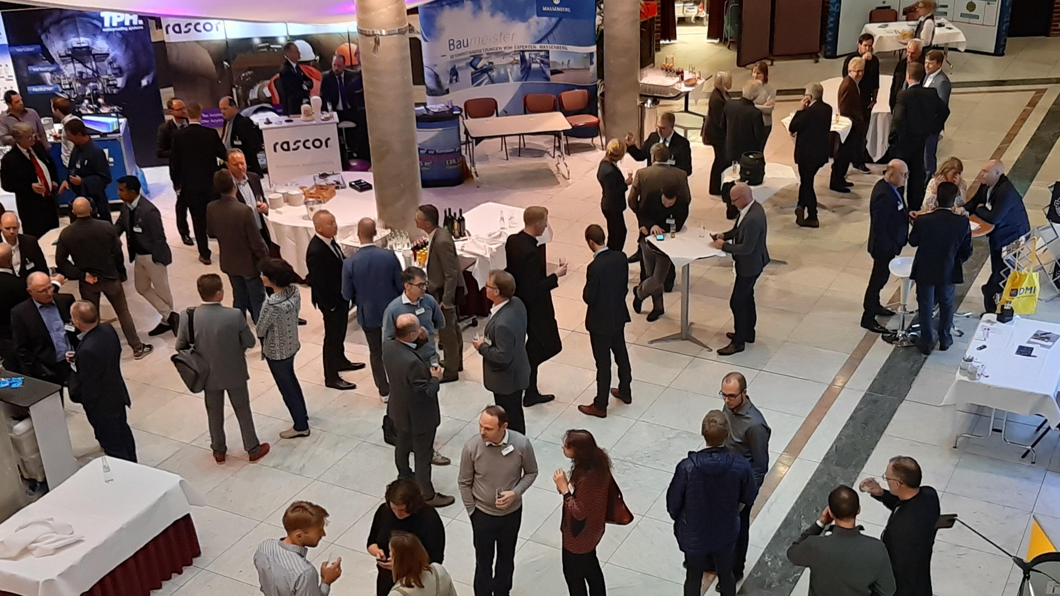 Injektionsforum 2018 Thienert Empfang